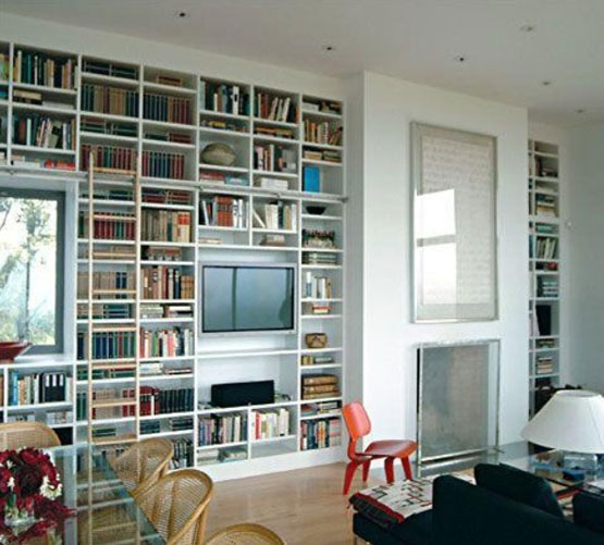 TV in Bookcase