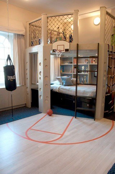 Little boy room decoration ideas photograph in our lives d - Deco basketball chambre ...
