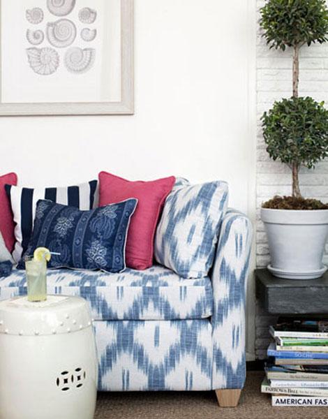 Pleasant Ikat In Interior Design The Decorating Files Ibusinesslaw Wood Chair Design Ideas Ibusinesslaworg
