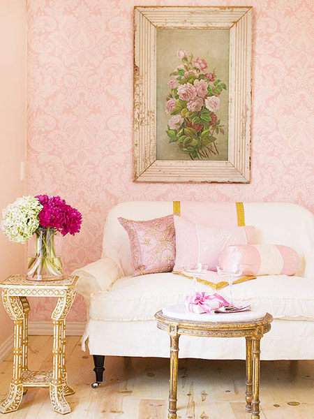 Decorating with Pink: It's Not Just for Little Girls | Decorating Files | #decoratingwithpink #pinkdecor