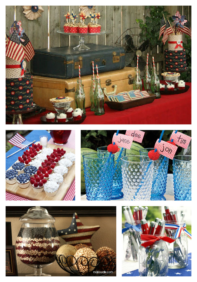 16 ideas for your 4th of july party the decorating files for 4th of july party decoration