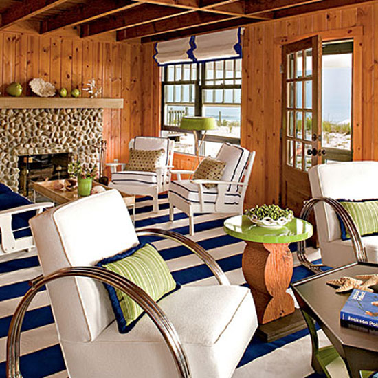 Beach Cottage Style: Adding Color to Coastal Style The Decorating ...