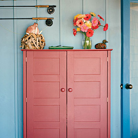 Beach Cottage Style: Adding Color To Coastal Style
