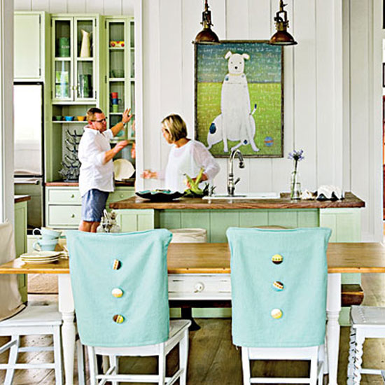 Cottage Style Dining Rooms