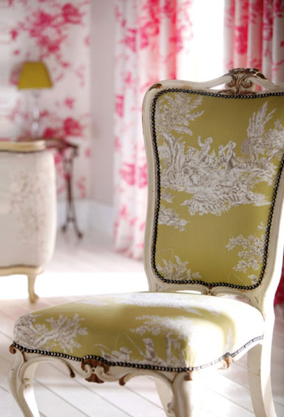 Toile de jouy what is it and how do you really pronounce it - Toile de jouy decoration ...