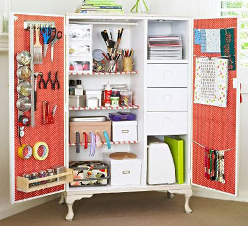Craft Storage Ideas 500 x 456