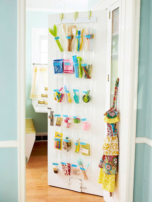 Clever Craft Storage Ideas - The Decorating Files