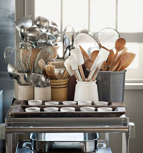 Kitchen Storage Ideas for Utensils