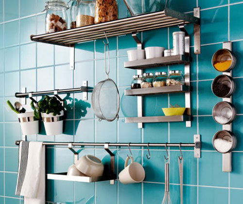 21 Amazing Shelf Rack Ideas For Your Home: 5 Stylish Kitchen Storage Ideas