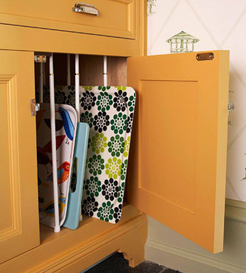 Kitchen Storage Ideas for Baking Sheets
