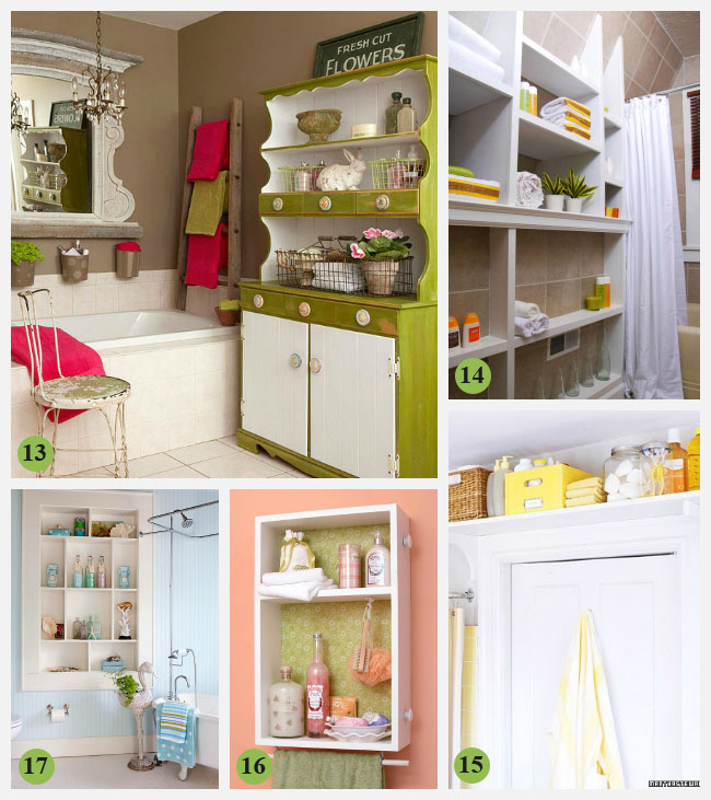 Creative Bathroom Storage Ideas Shelves