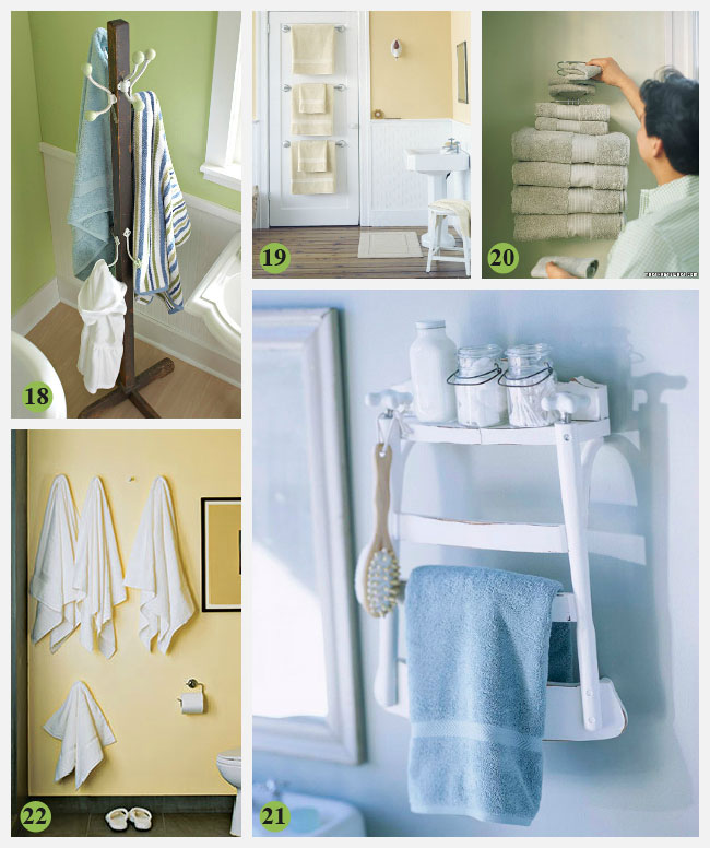 Creative Bathroom Storage Ideas for Wet Towels