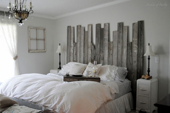 DIY Headboards - 10 Creative Easy, Inexpensive Ideas