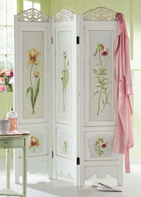 Great ways to decorate with a folding screen - Puertas de biombo ...