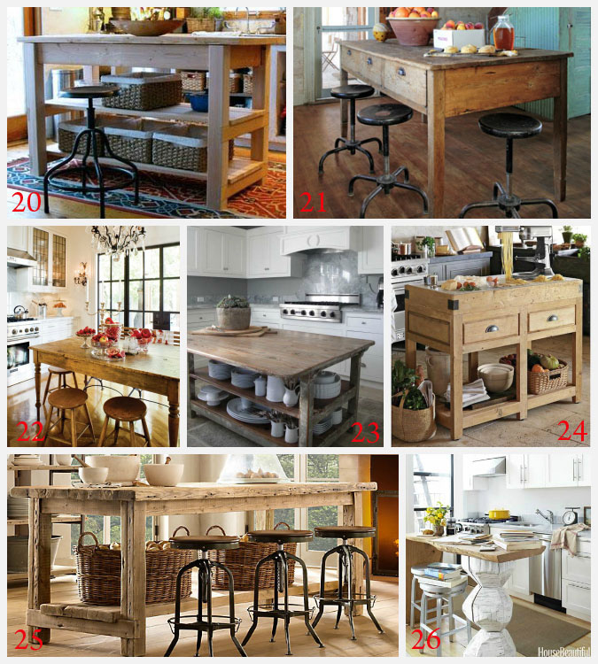 Kitchen island ideas decorating and diy projects Kitchen design diy ideas