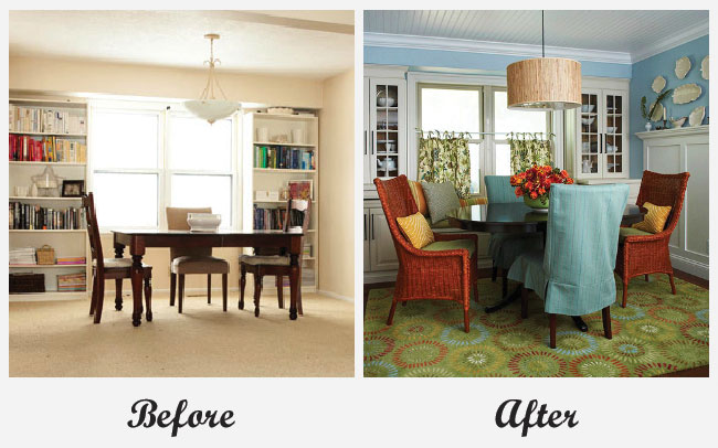 Room Makeovers Endearing Of Before and After Room Makeovers Images