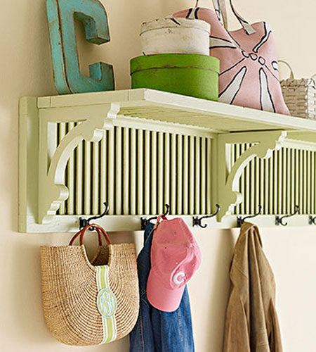 Home DIY Projects Shutter Shelf Wood Brackets
