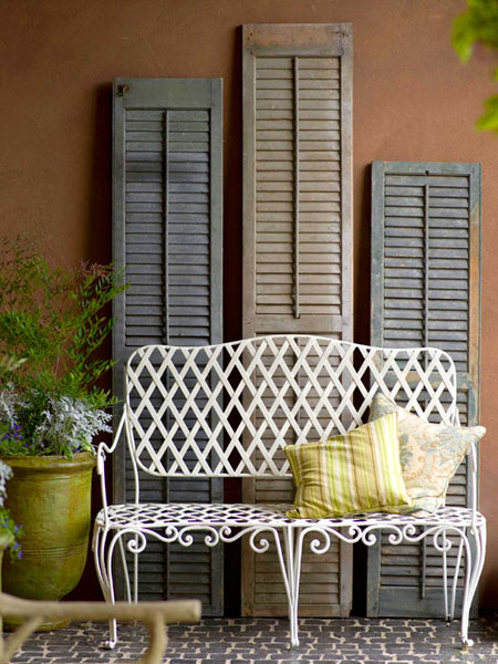 Home Diy Projects Using Shutters Creative Decorating