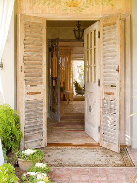 Home DIY Projects Shutters Framing Front Door