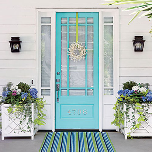8 Fabulous Colors For Front Doors For A Stand-out Entry