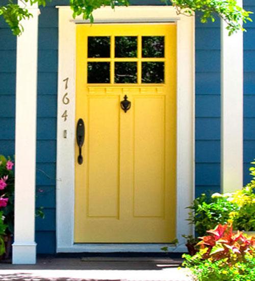 Home entrance door craftsman exterior doors - Exterior door painting style ...
