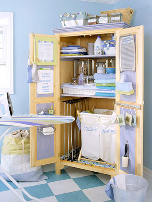 Laundry room ideas budget friendly and easy to do - Lavadero easy ...