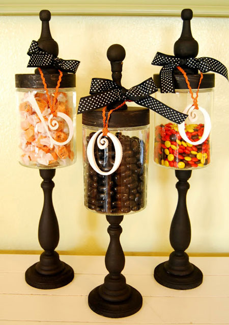 Diy Halloween Candy Jars Easy And Inexpensive To Make