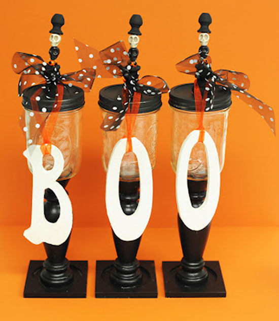 Halloween DIY Candy Jars