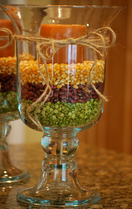 Fall decorating ideas easy diy projects - Vase decoration interieur ...