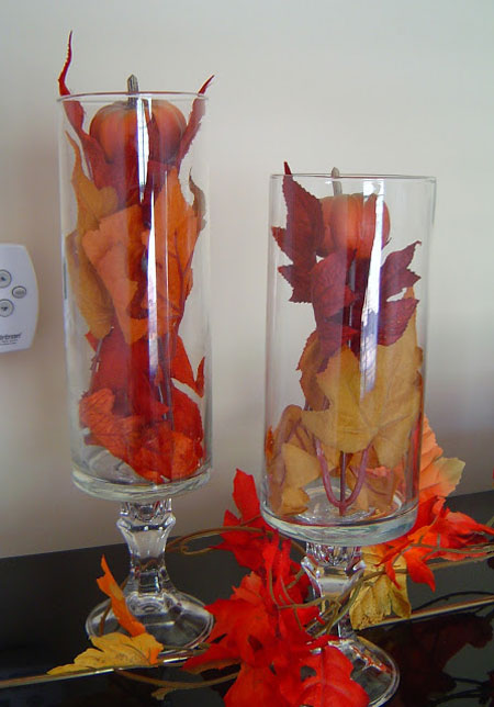 Fall decorating ideas easy diy projects - Vase de decoration interieur ...