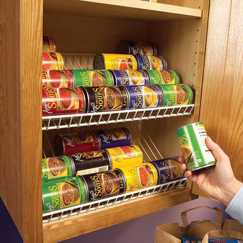 Kitchen storage ideas that are easy and affordable for Astuce rangement placard cuisine