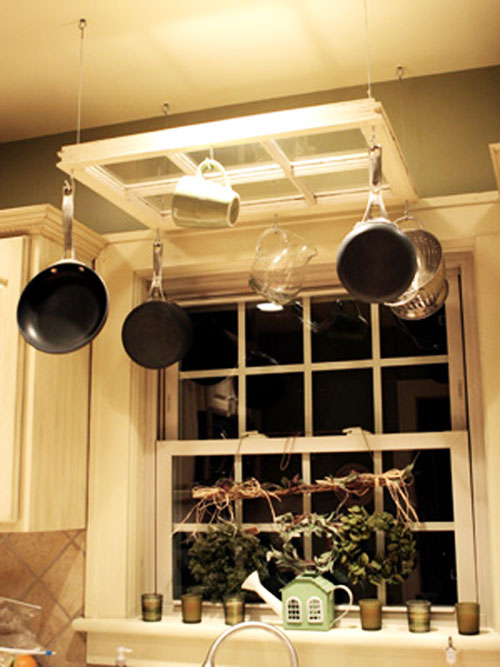 Diy Pot Rack Ideas Everyday Items Can Become Cool Pot Racks