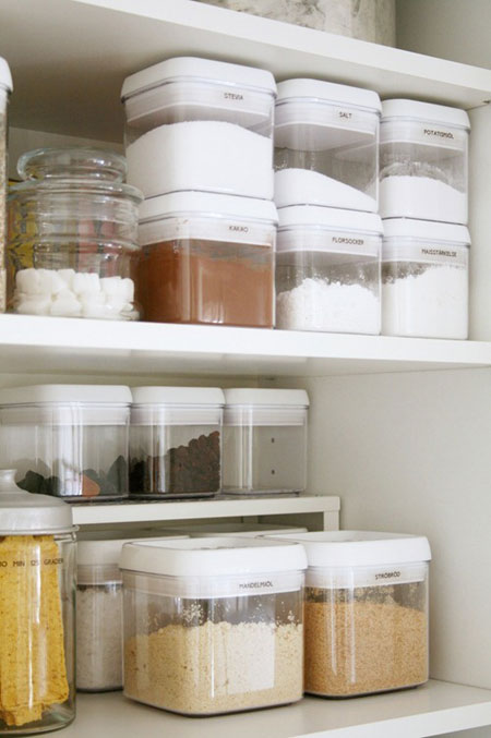 Pantry organization ideas part 1 for Organization ideas for kitchen pantry