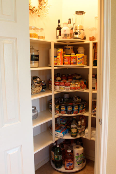 Pantry organization ideas part 2 for Kitchen shelf ideas