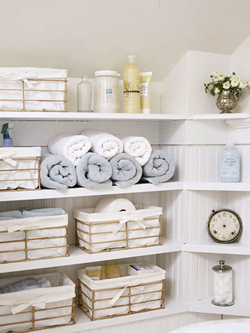 stylish bathroom storage a dish of daily