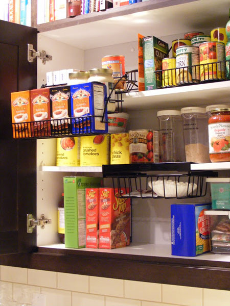 pull down spice rack plans