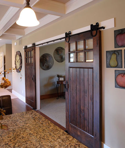 Sliding Barn Doors Ideas and Inspiration : SlidingBarnDoors5 from decoratingfiles.com size 475 x 560 jpeg 59kB