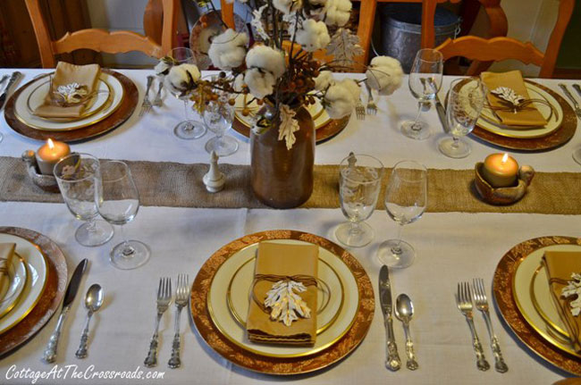 Tabletop Tuesday Fall Table Setting Ideas Week 5