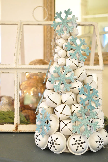 Christmas Crafts Table Top Tree DIY Projects