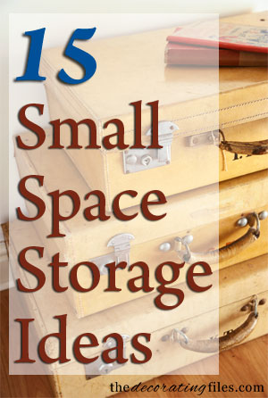Small Space Storage: 15 Creative & Fun Ideas