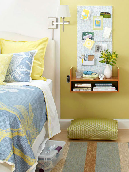 Bedroom nightstand ideas fun and functional alternatives Night table ideas
