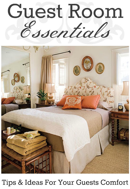 Guest room essentials tips ideas for your guests comfort for Small room essentials