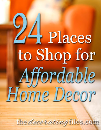affordable home decor 24 places to shop