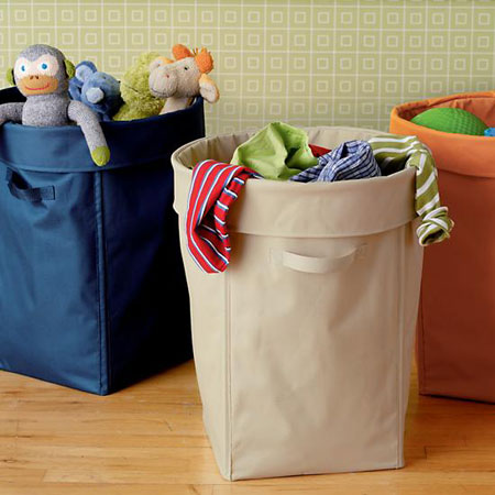 Getting organized 5 tips to help organize kids 39 rooms for Hampers for kids rooms
