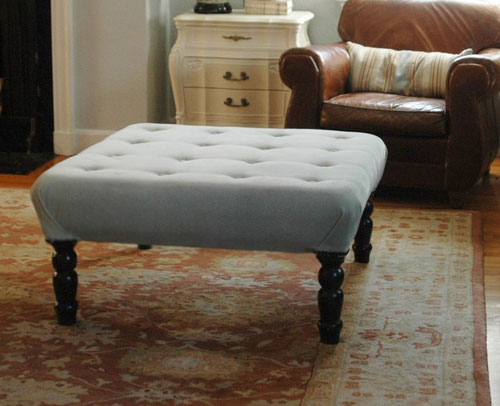 Making Your Own Ottoman Coffee Table