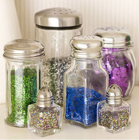 Craft Storage Ideas: Shakers for Glitter