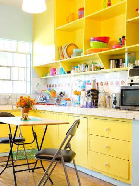 cabinet paint colors 7 colorful choices for the kitchen yellow