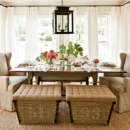 5 dining room decorating ideas ForDining Room Seating Ideas