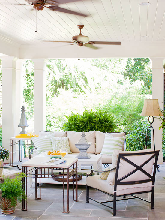 Porch decorating ideas creating a fabulous space for Covered patio decorating ideas