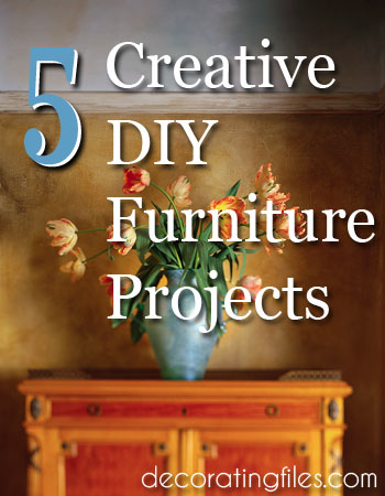 Ready for some fun DIY projects? These 5 creative furniture ideas include a dining table, side tables, and more. Find out how to style your home for less.